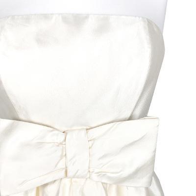 ribbon detail tube top dress